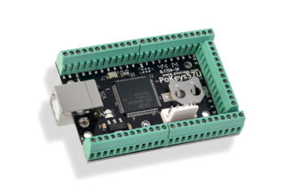 PoKeys57U is USB CNC controller and universal IO adapter also flight simulator interface