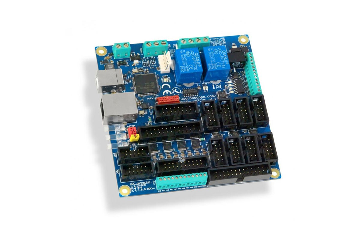PoKeys57CNC USB and Ethernet CNC controller