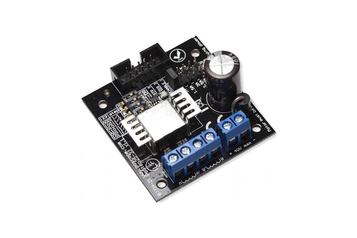 Postep25 32 Stepper Motor Driver Polabs Picture Of Finish Generator Circuit