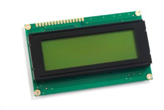 Alphanumeric LCD 4x20